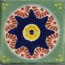 Mexican Talavera Tile Ajalpan
