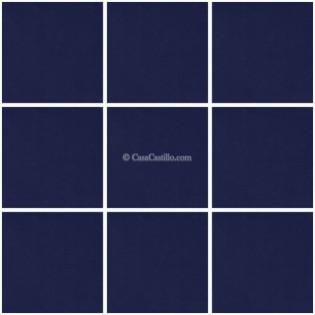Mexican Talavera Tiles Blue Cobalt