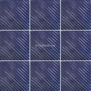 Mexican Talavera Tiles Blue Ripples