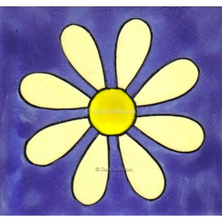 Ceramic Frost Proof Tiles Daisy 1