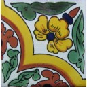 Mexican Talavera Tiles Flowers 22