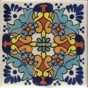 Mexican Talavera Tile Grace 2