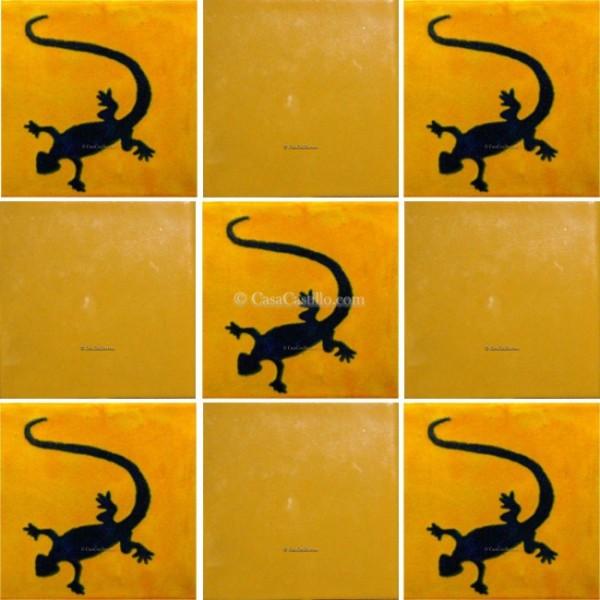 Green Lizard Ceramic Tiles | Zazzle