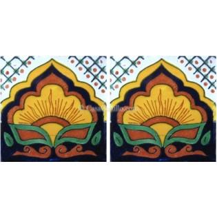 Mexican Talavera Border Tile Sayula