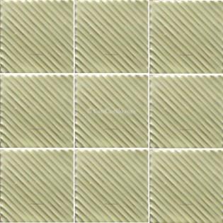 Mexican Talavera Tiles White Ripples