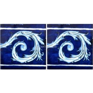 Ceramic Frost Proof Border Tile Magdalena