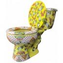 """Talavera Toilet Set """"Calacas"""""""