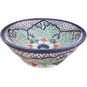 Mexican Talavera Vessel Sink VS09