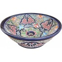 Mexican Talavera Vessel Sink VS10