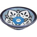 Mexican Talavera Vessel Sink VS14
