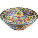 Mexican Talavera Vessel Sink VS15