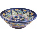 Mexican Talavera Vessel Sink VS16