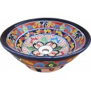 Mexican Talavera Vessel Sink VS17