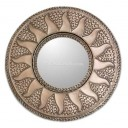 Mexican Tin Mirror Mini Sol