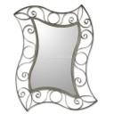 Mexican Tin Mirror Olas