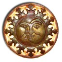 "Mexican Wall Lamp 24"" Luna y Sol"