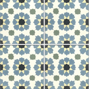Mission Cement Tile Moorish