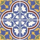 Mission Cement Tile Roseton