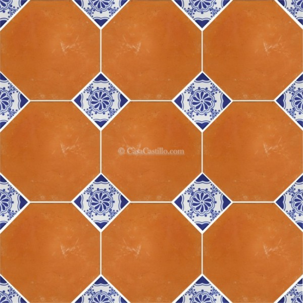 Mexican Saltillo Tiles Floor