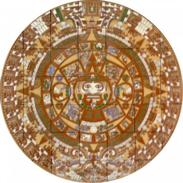 Mexican Talavera Mural Ceramic High Relief