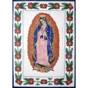 Talavera High Relief Mural Virgen