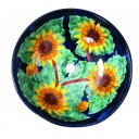 Talavera Sink Sunflowers