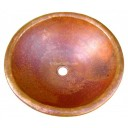 Copper Sink Round