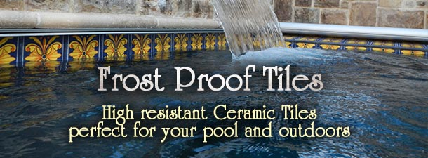 Frost Proof Tiles