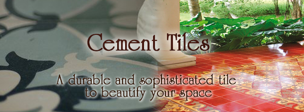 Cement Tiles Solid Colors