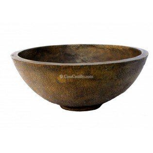 Mexican Bronze Sink Tazon Redondo