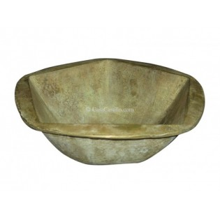 Mexican Bronze Sink Pentagonal
