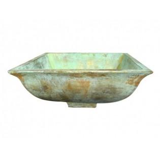 Mexican Bronze Sink Square-Tazon