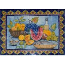 Ceramic Frost Proof Mural Frutas 2