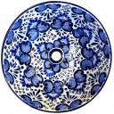 Talavera Sink Azul Cielo