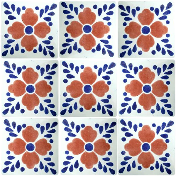 Mediterranean Kitchen Mastic: Mexican Talavera Tiles