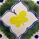 Mexican Talavera Tiles Butterfly 2