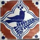 Mexican Talavera Tiles Dove 2