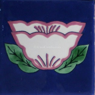 Mexican Talavera Tiles Flowers 24