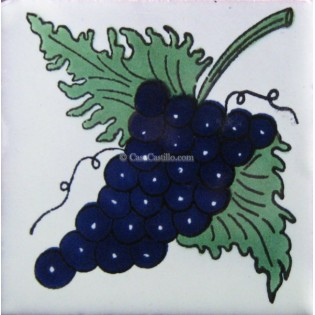 Ceramic Frost Proof Tiles Grapes