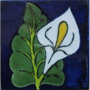 Ceramic Frost Proof Tiles Lilies 1