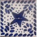 Mexican Talavera Tiles Sea Star