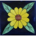 Mexican Talavera Tiles Sunflower 11