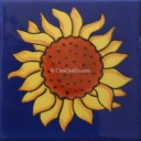 Ceramic Frost Proof Tiles Sunflower 5