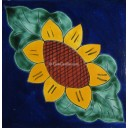 Mexican Talavera Tiles Sunflower 7