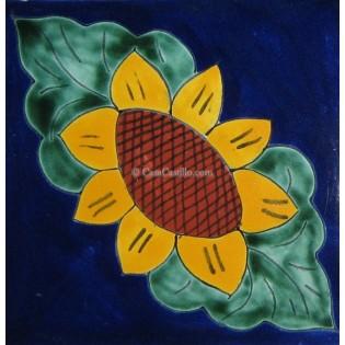 Ceramic Frost Proof Tiles Sunflower 7