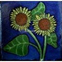Ceramic Frost Proof Tiles Sunflower 9