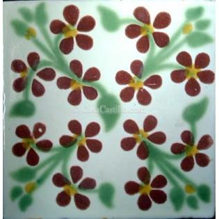 Ceramic Frost Proof Tiles Violets 2