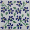 Ceramic Frost Proof Tiles Violets 1