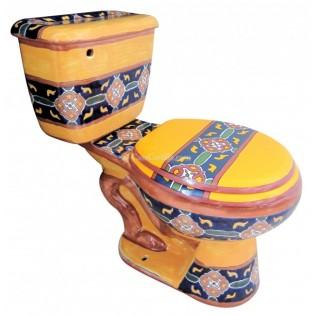 "Talavera Toilet Set ""Guanajuato"""