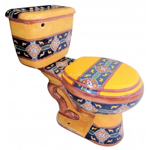 Talavera Toilet Set Quot Guanajuato Quot